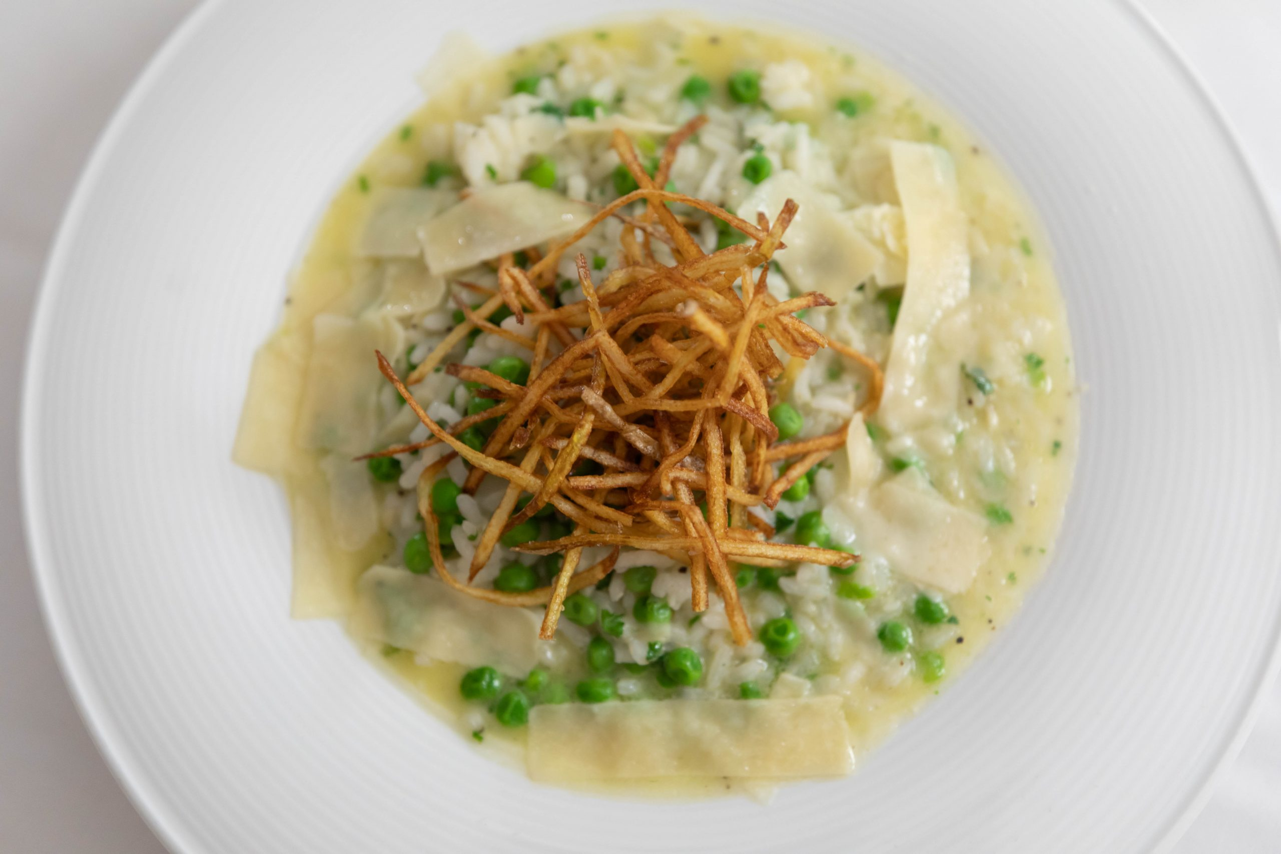Risotto from Aerie Restaurant at Grand Traverse Resort & Spa in Acme Traverse City Michigan Photographed by Annie Fairfax
