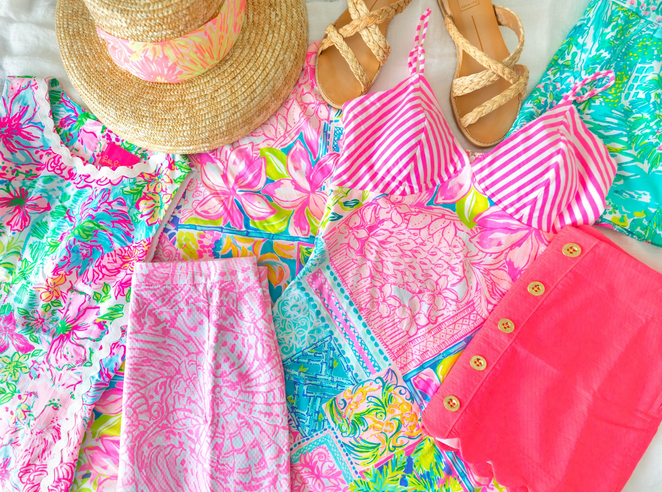 Preppy Feminine Fun Colorful Clothing Palm Beach What I Bought in the Lilly Pulitzer After Party Sale My Lilly Pulitzer Sale Haul by Annie Fairfax