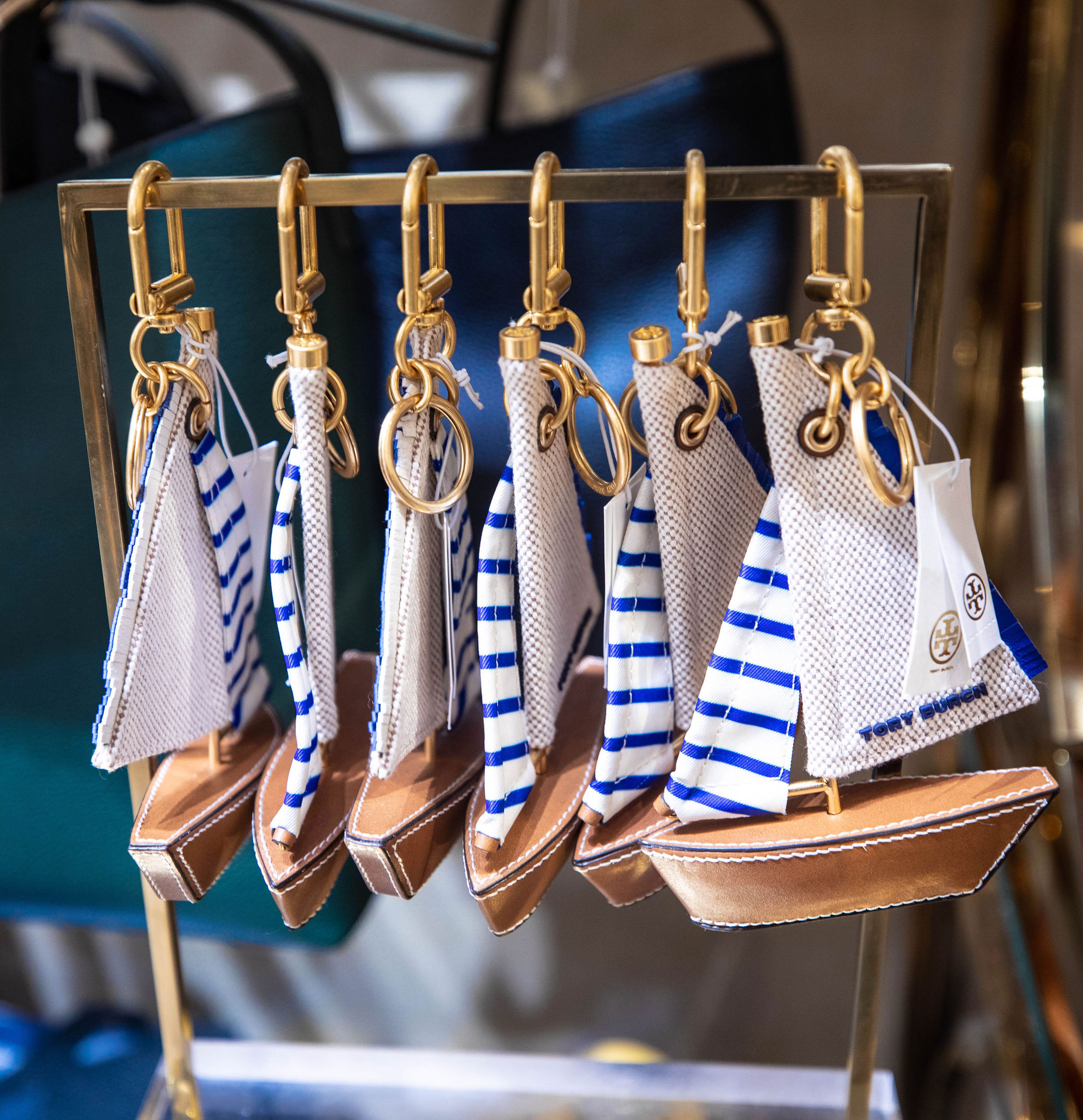 Sailboat Charm from Tory Burch Outlet at Fashion Outlets of Chicago Tory Burch Outlet Up to 80% off Designer Fashion by Annie Fairfax