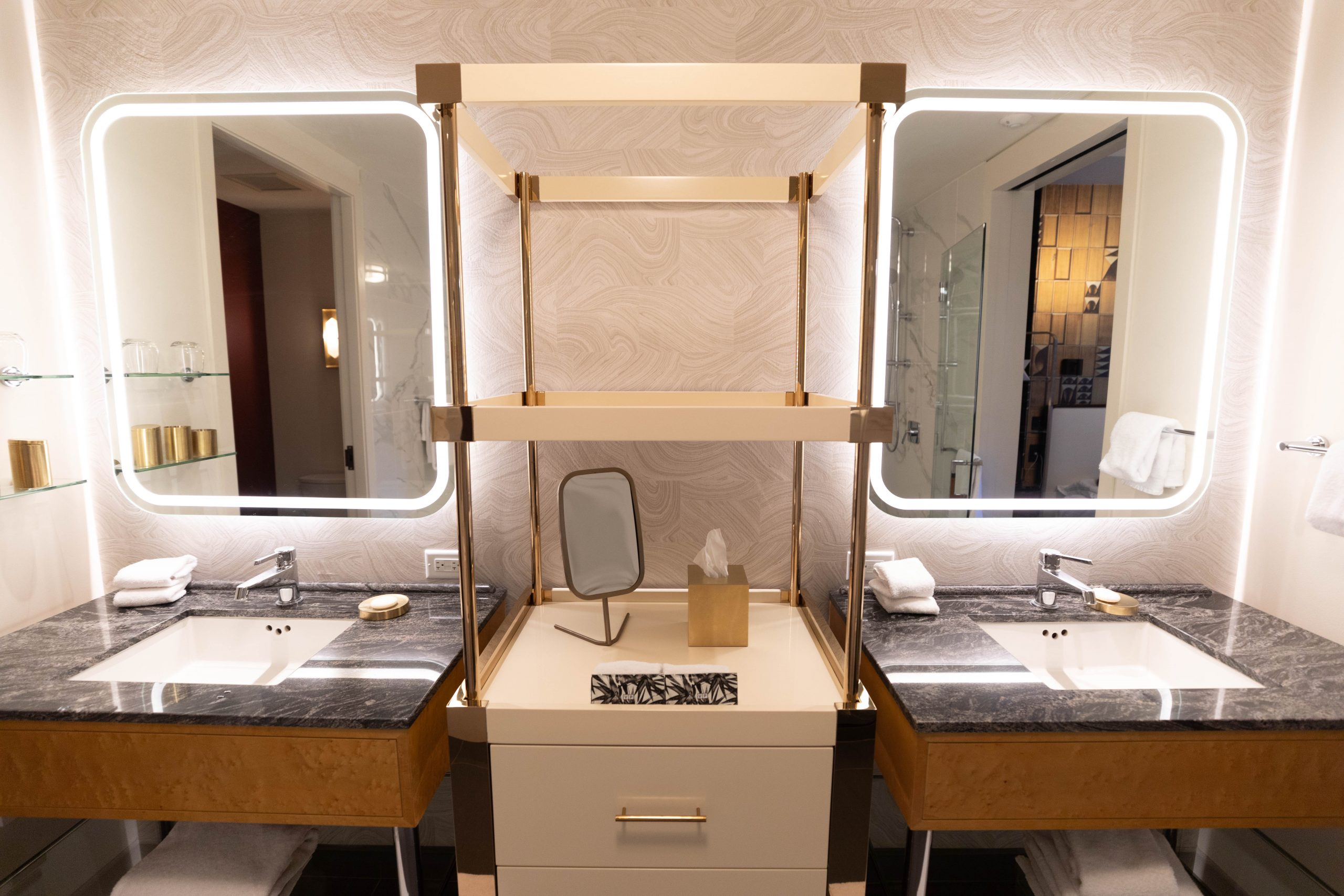 Marble Bathroom Inside Viceroy Chicago 5-Star Luxury Hotel in Historic Gold Coast District Illinois Midwest Luxury Hotels by Annie Fairfax Where to Stay in Chicago