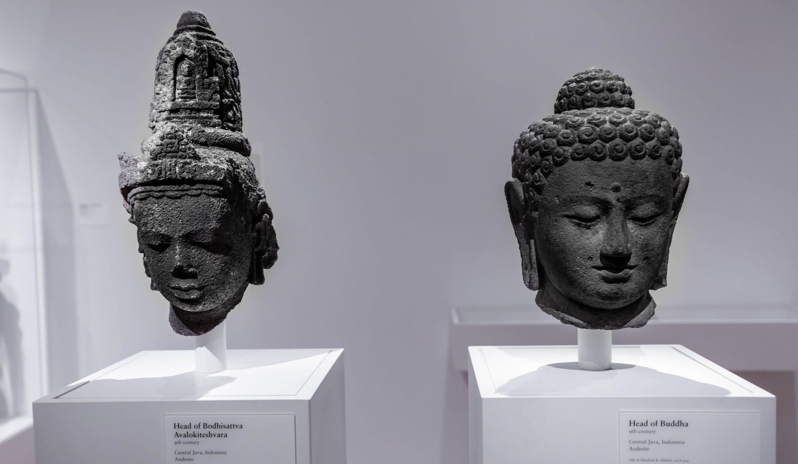 Stone Statues of Buddha The Art Institute of Chicago in Chicago, Illinois by Annie Fairfax
