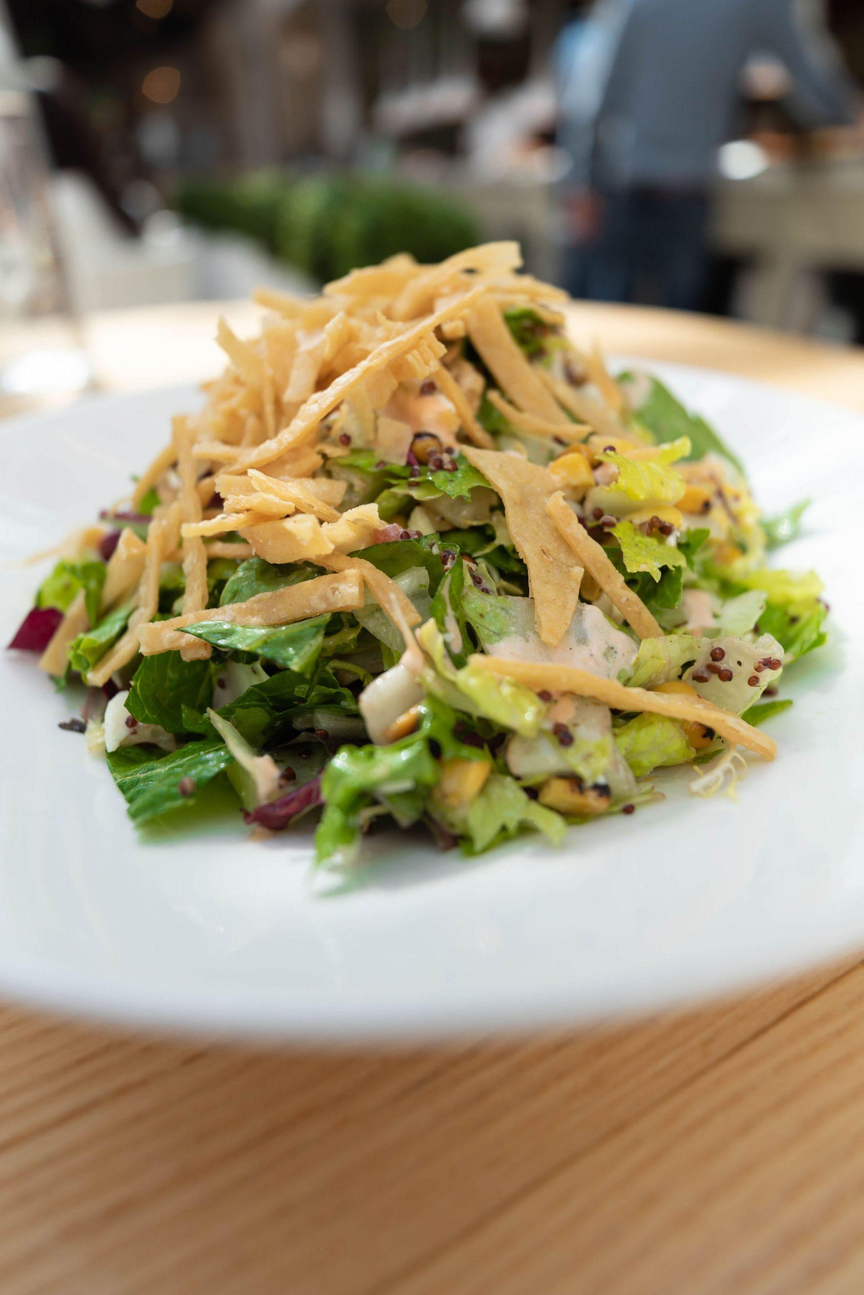 Costa Mesa Salad Summer House Santa Monica Vegan Friendly Gluten Free Restaurant in Chicago, Illinois Gold Coast by Annie Fairfax