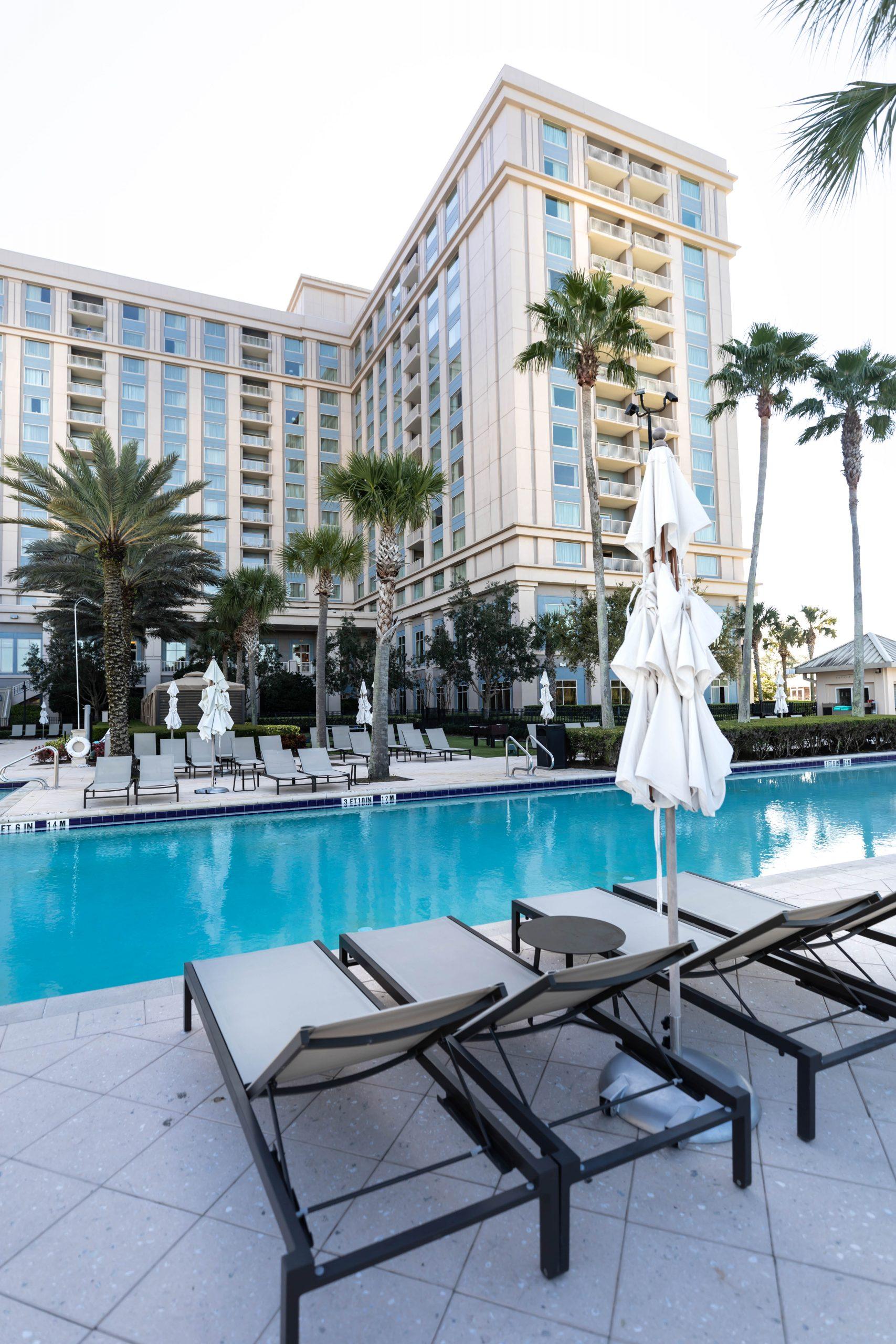 Aquamarine Restaurant Waldorf Astoria Orlando Poolside Restaurant in Orlando Florida by Annie Fairfax