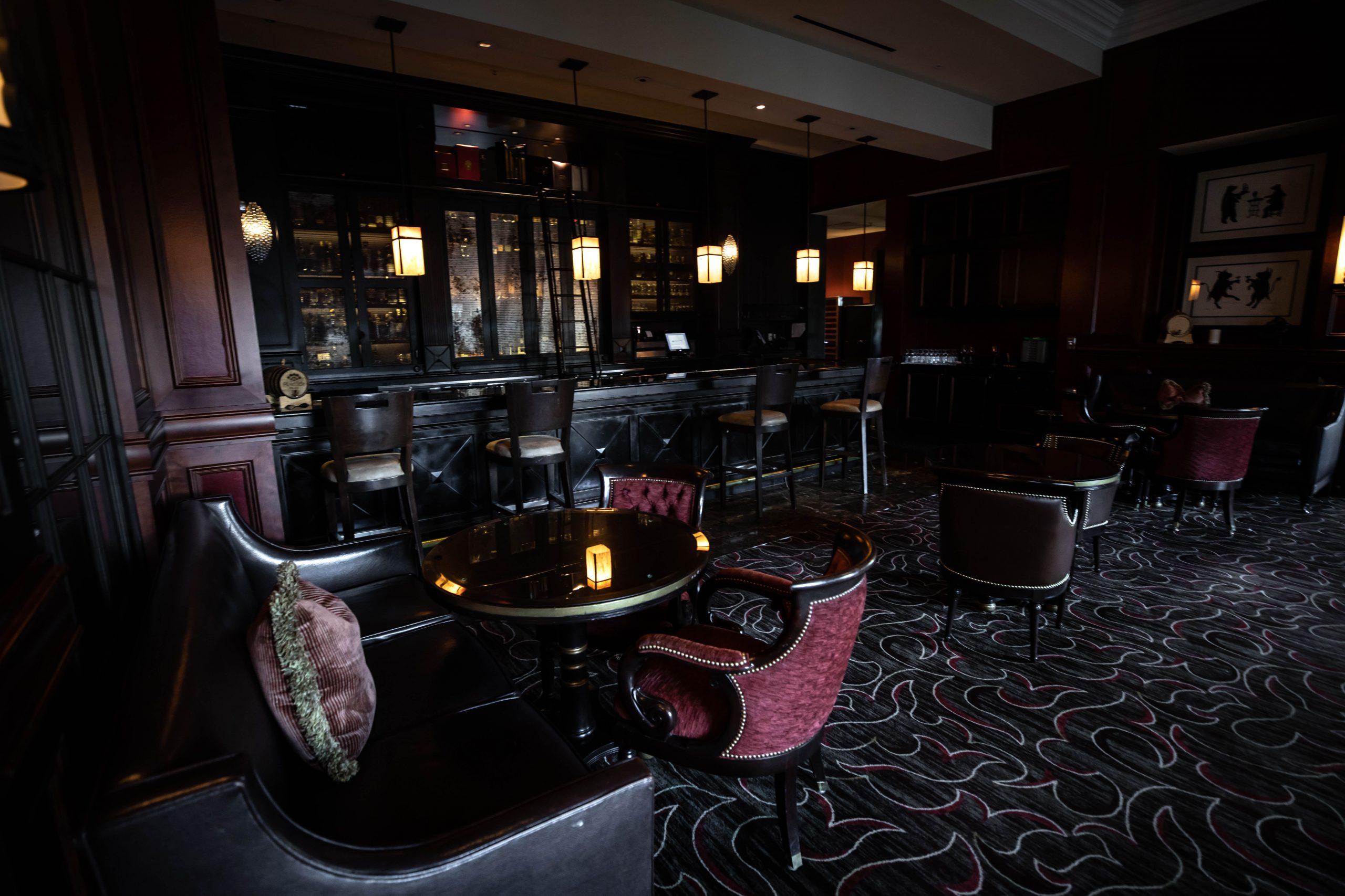 Interior of Bull & Bear Inside Waldorf Astoria Orlando Hotel Orlando Florida Luxury Restaurants of the World Fine Dining by Annie Fairfax