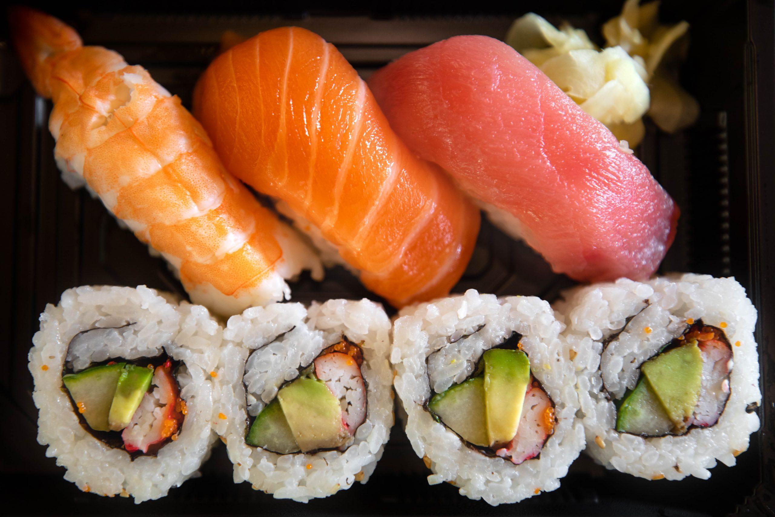 Sushi at Japan Inside Epcot World Showcase Epcot International Flower & Garden Festival by Annie Fairfax