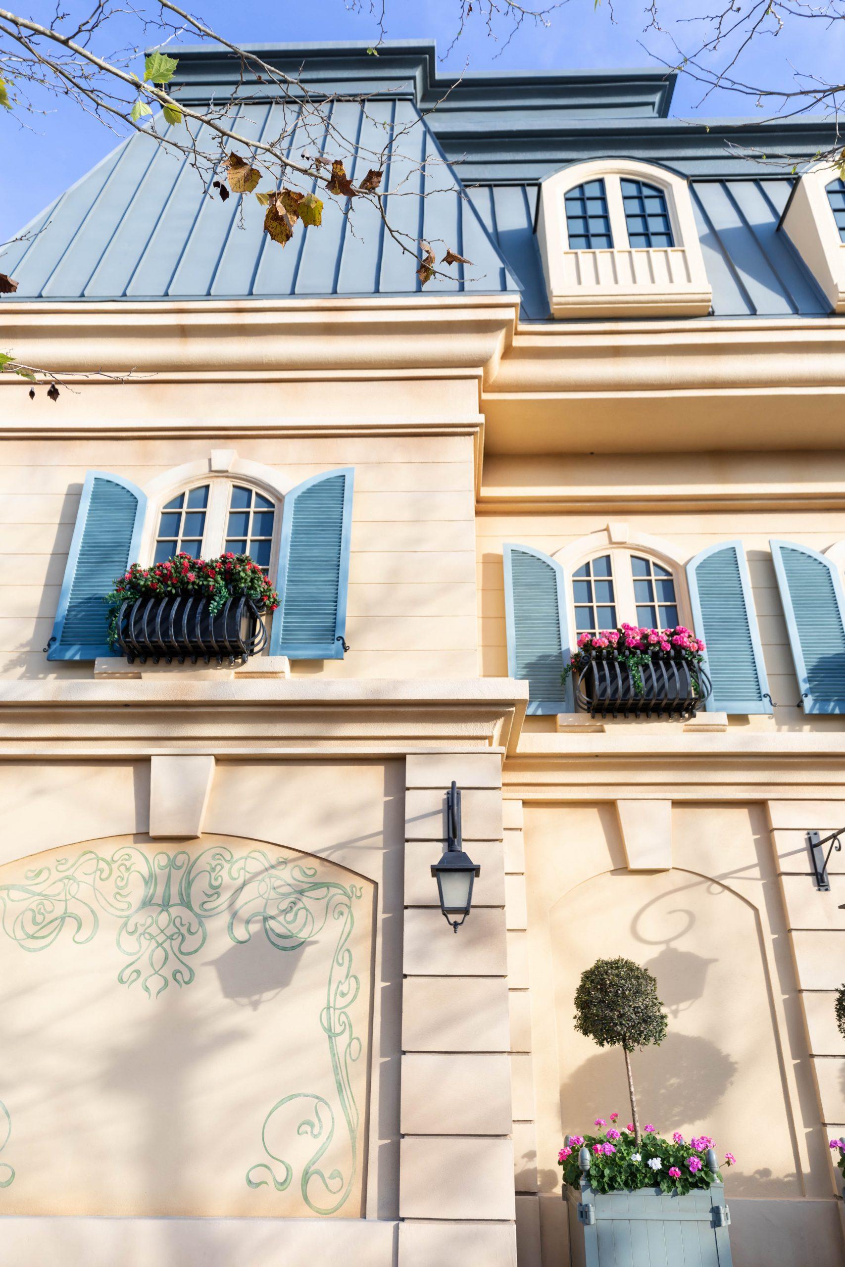 France at Epcot World Showcase Epcot International Flower & Garden Festival by Annie Fairfax