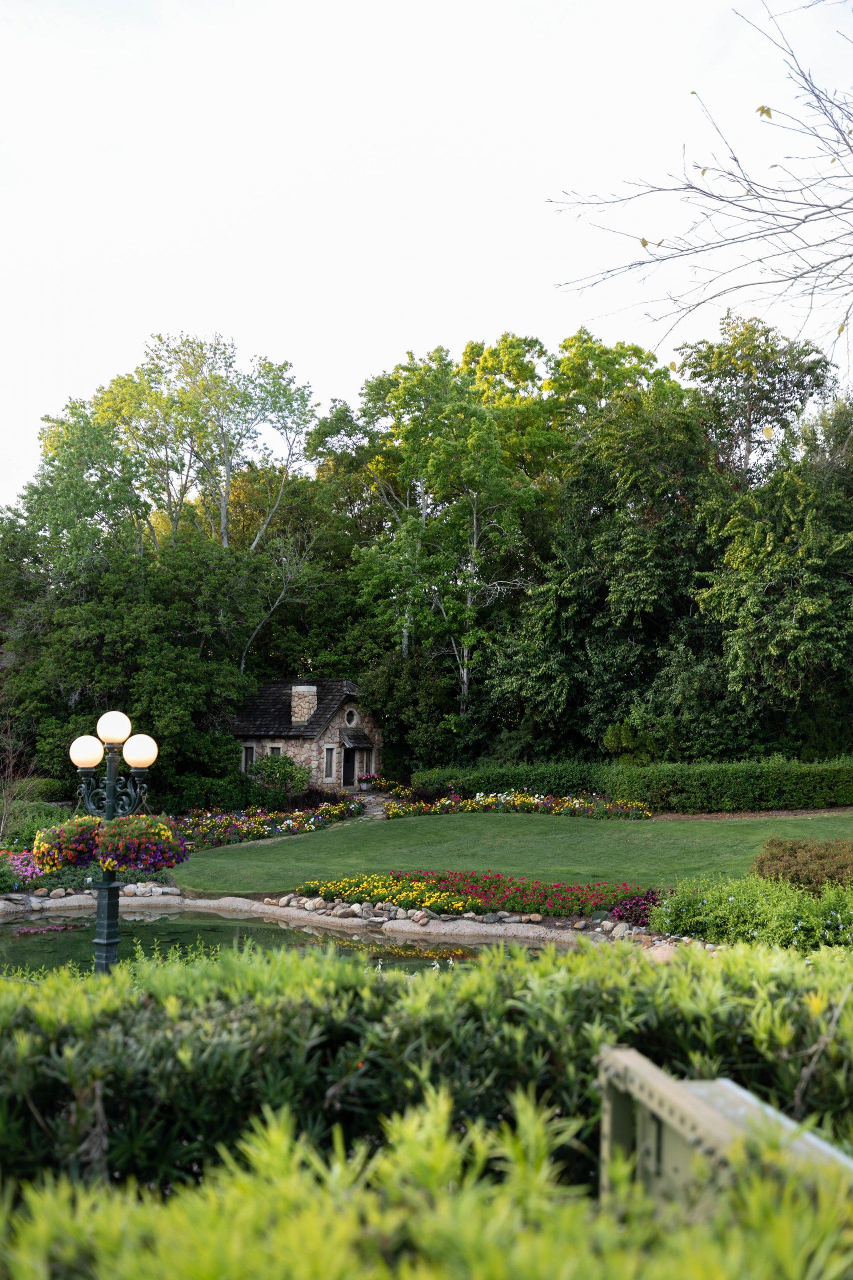 Butchart Gardens in Canada at Epcot Walt Disney World by Luxury Travel Writer Annie Fairfax