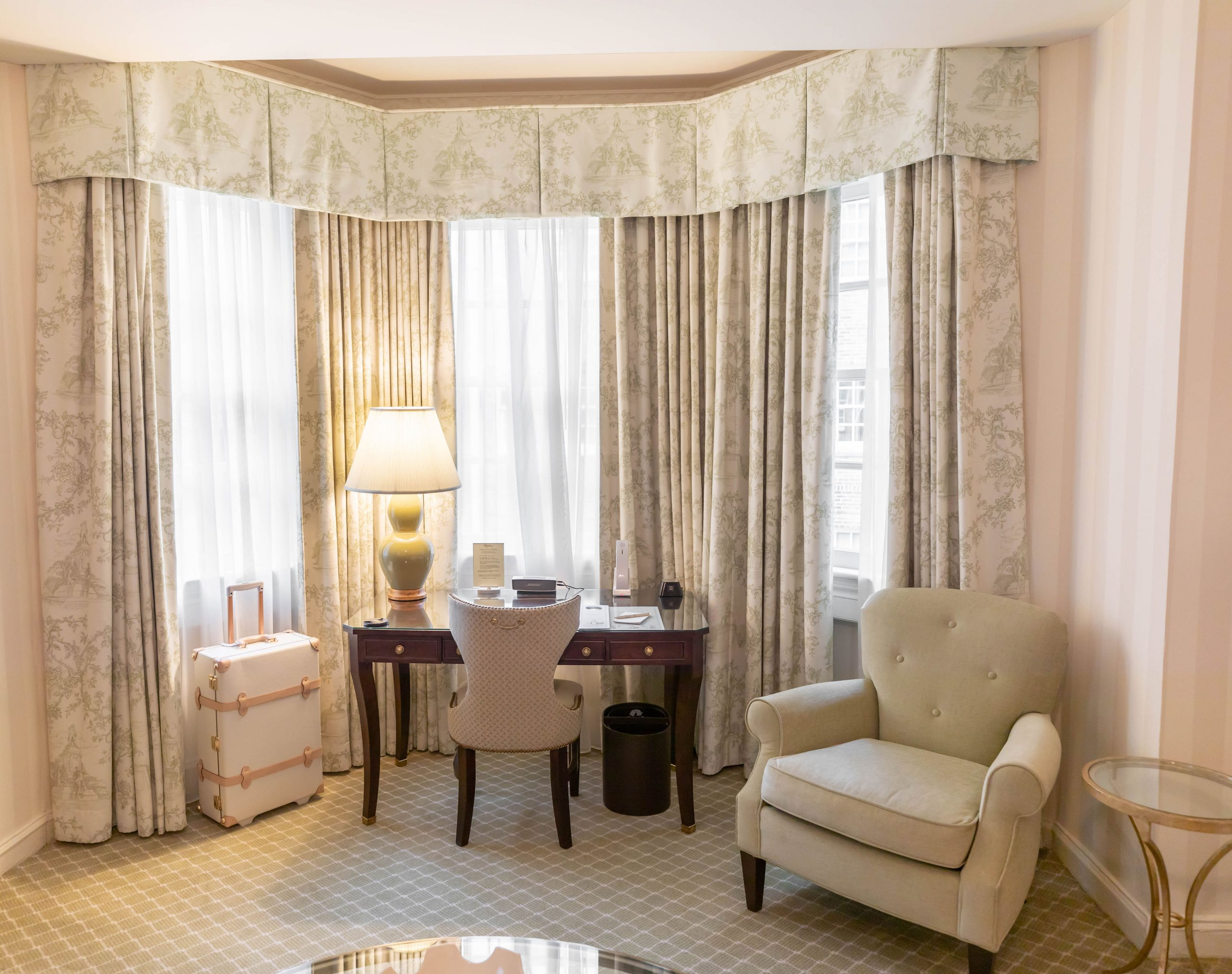Executive Studio Room at The Hay-Adams 5-Star Luxury Hotel in Washington D.C. Photographed & Written by Luxury Travel & Lifestyle Writer Annie Fairfax