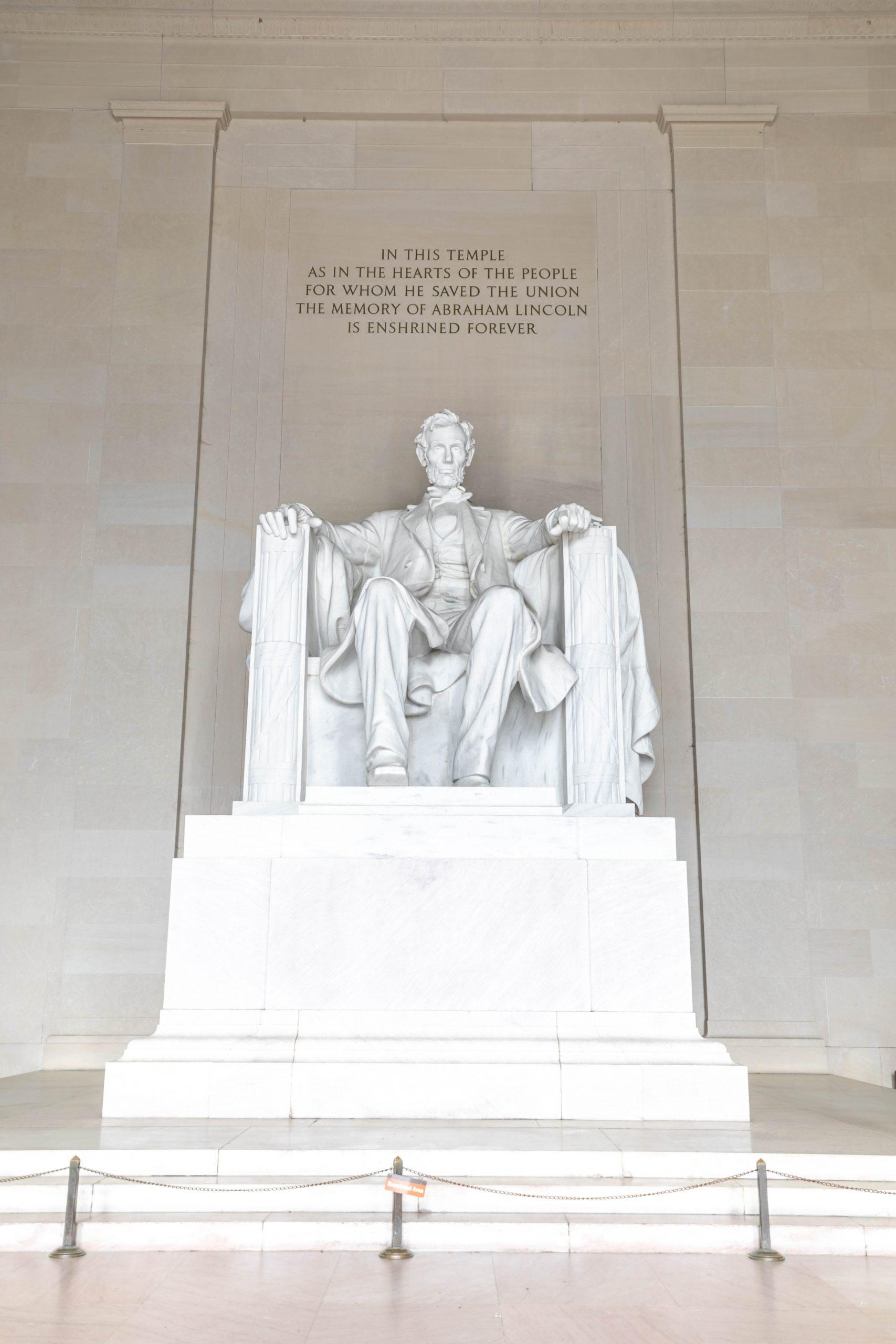What I Wore in Washington, D.C. Lincoln Memorial by Annie Fairfax