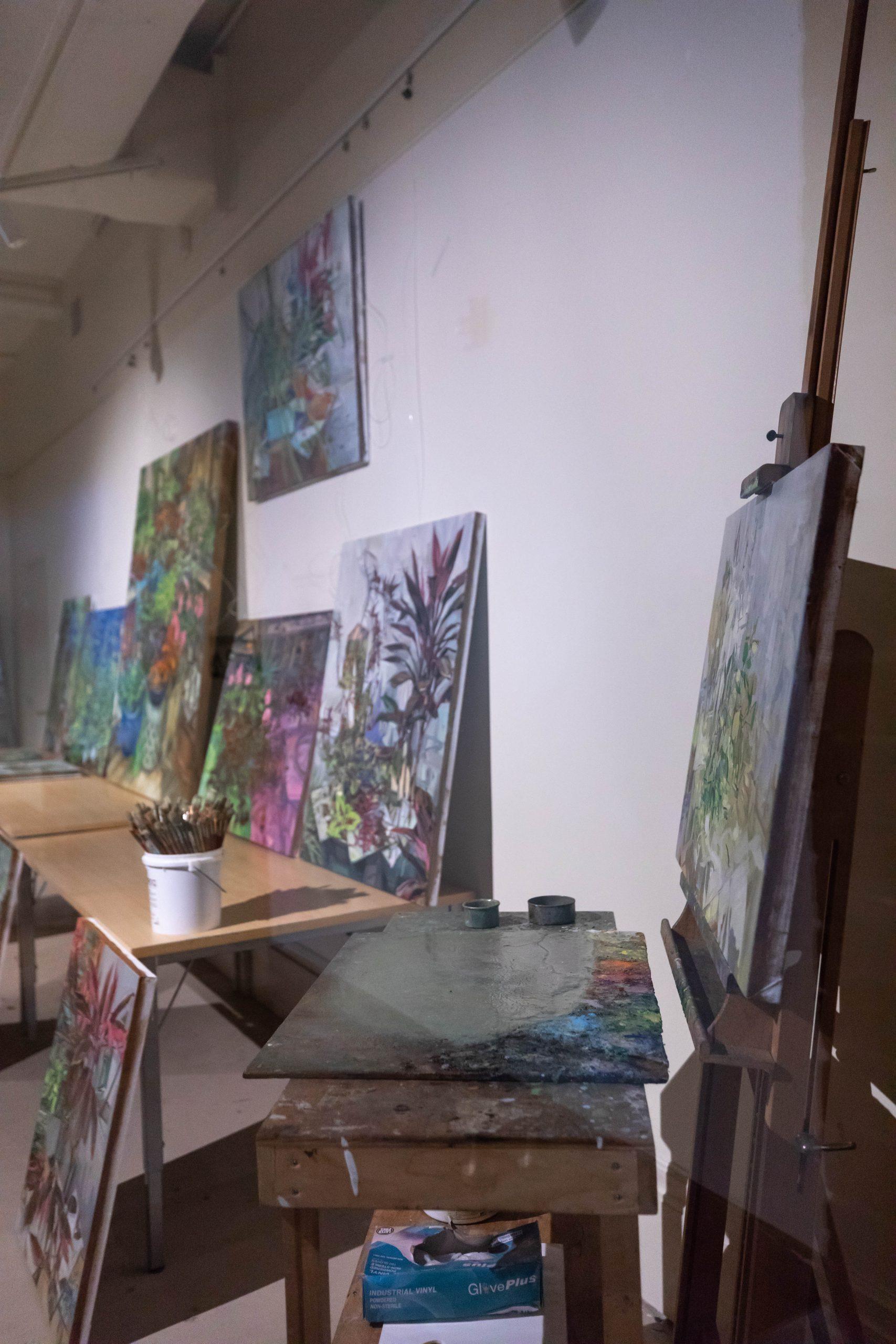 Visiting Artist Program in Charleston South Carolina by Annie Fairfax