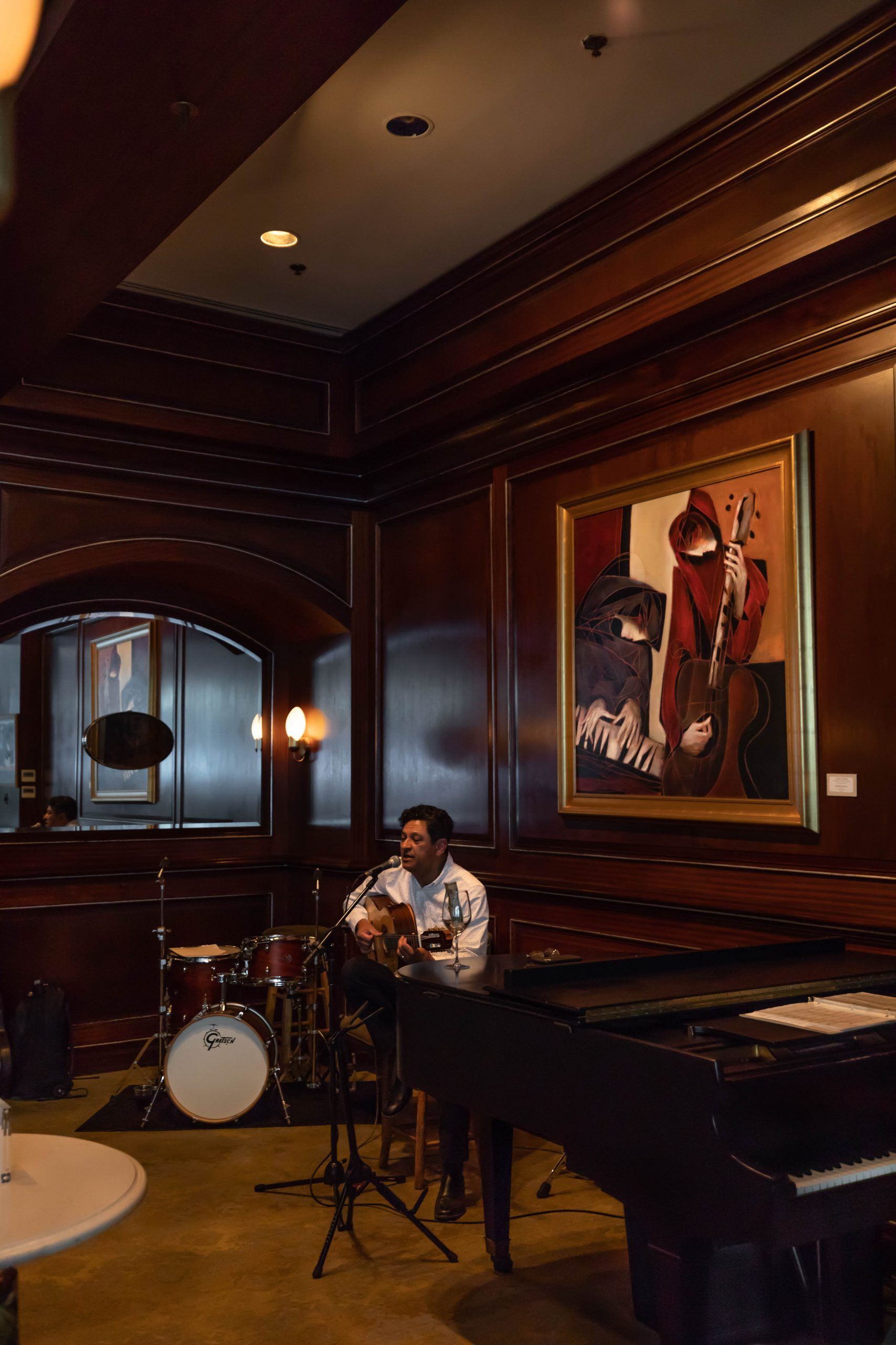 Gerald Gregory Duo at Charleston Grill Belmond Charleston Place Photographed by Annie Fairfax