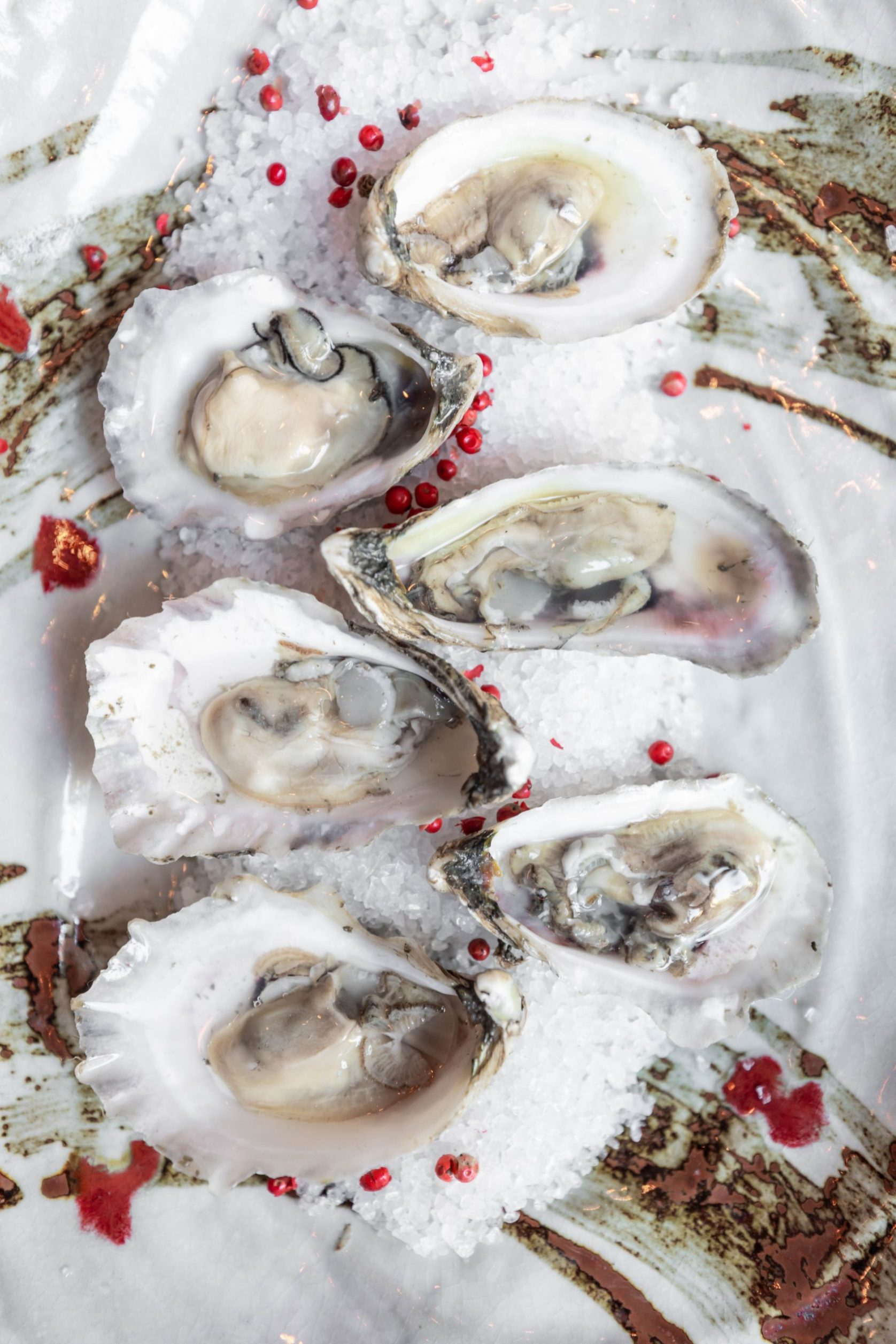 Lowcountry Oyster Company Oysters at Charleston Grill Inside Belmond Charleston Place Luxury Restaurants of the World by Annie Fairfax