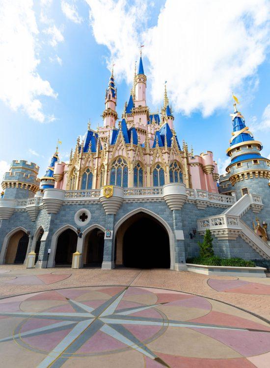 Cinderella Castle at Magic Kingdom Inside Walt Disney World Near Orlando Florida photographed by Annie Fairfax