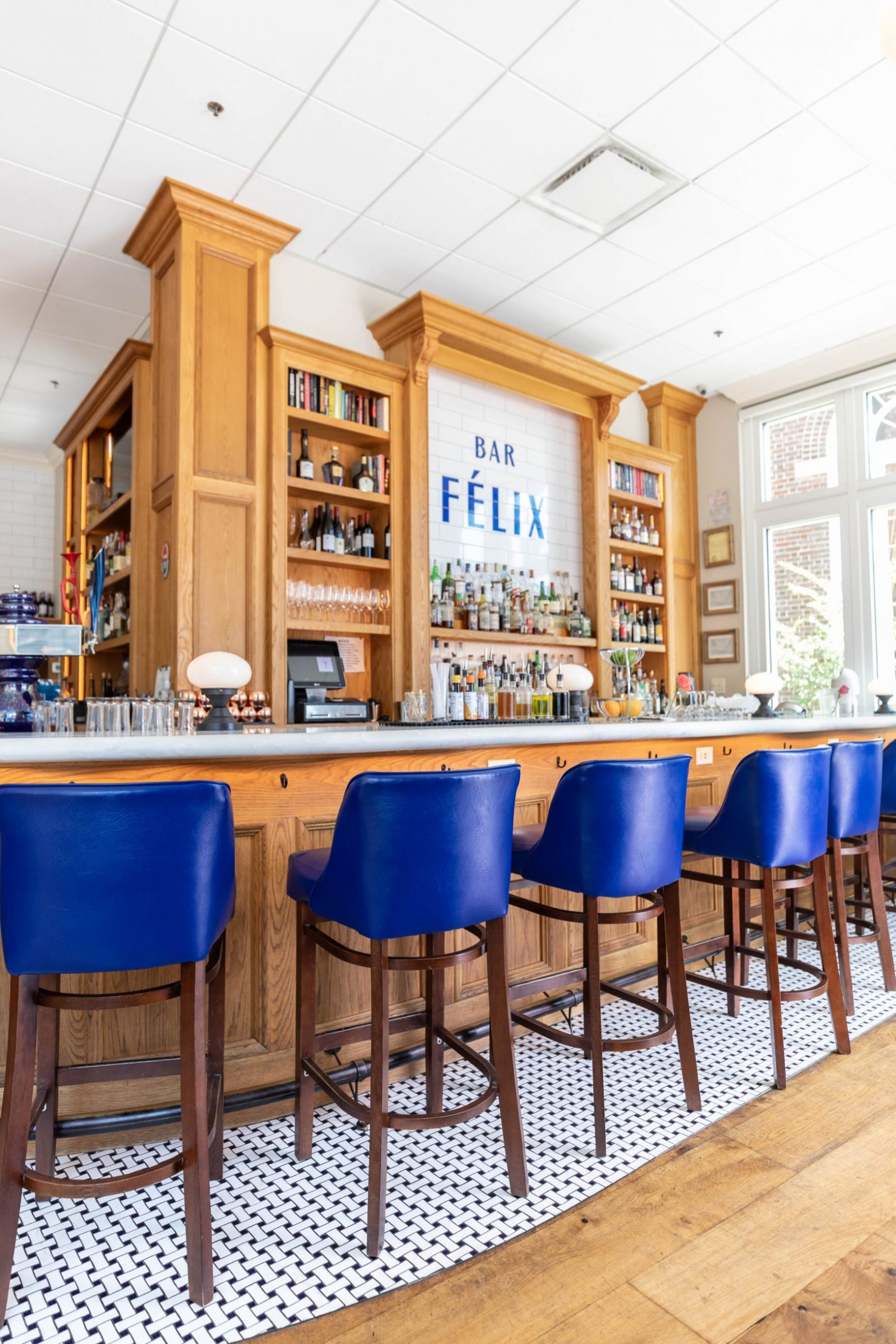 Félix Cocktails et Cuisine in Charleston South Carolina Fine Dining French Café Photographed and Written by Luxury Travel Writer Annie Fairfax