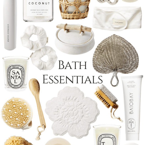 Bath & Shower Décor and Essential Tools, Scrubs, Linens, and More Curated by Luxury Writer Annie Fairfax