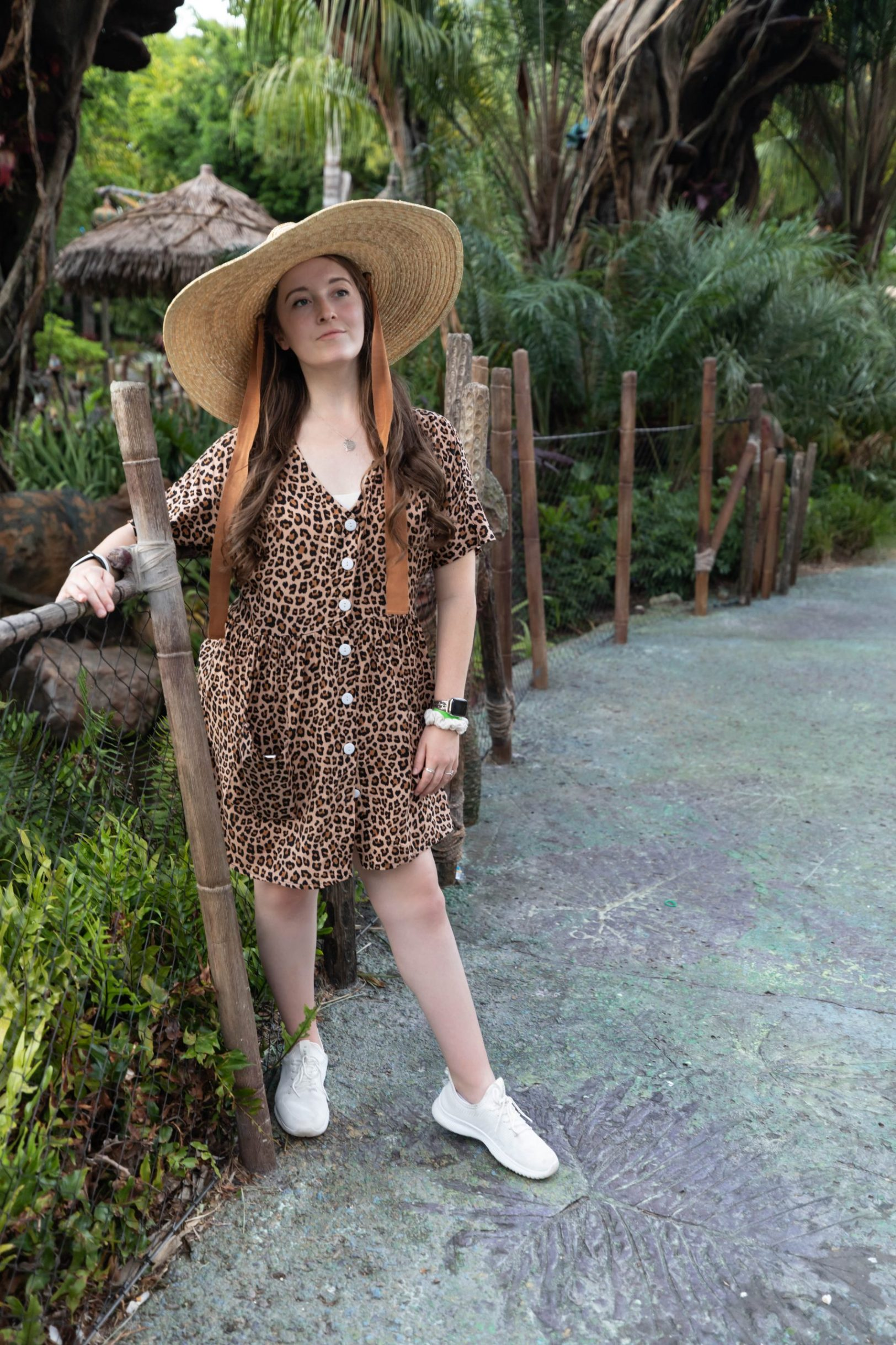 Farewell Dinner at Animal Kingdom Cheetah Print Dress