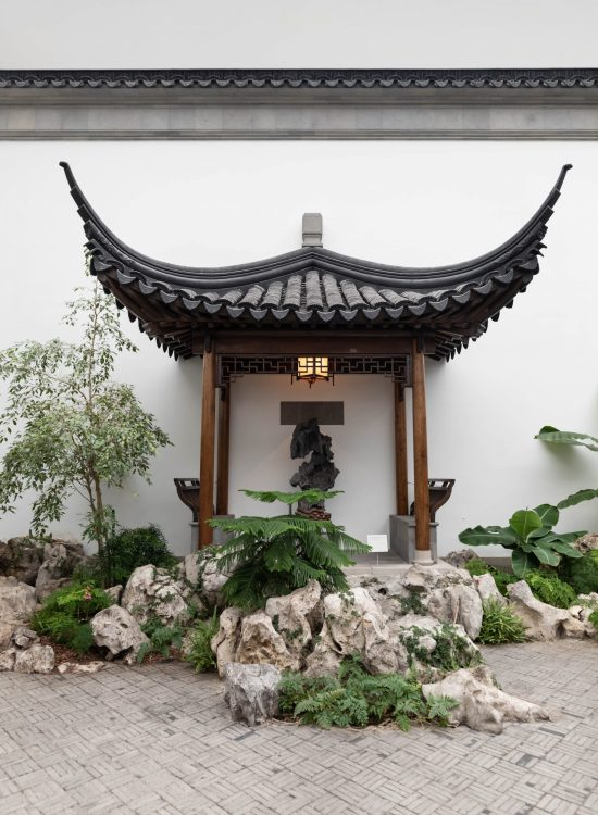 Astor Court, a Chinese Garden Court at The Metropolitan Museum of Art Photographed by Annie Fairfax