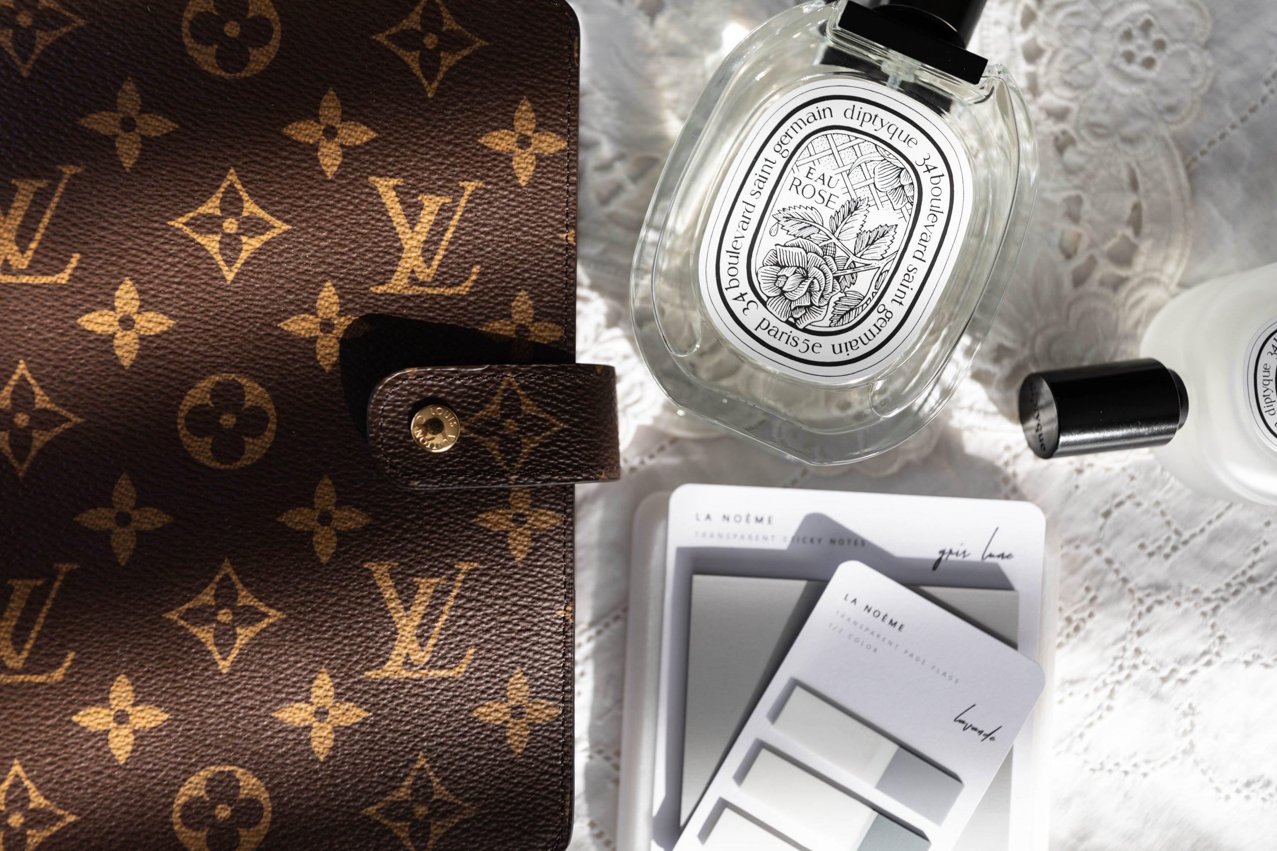 Louis Vuitton Agenda Setup Diptyque Custom Planner Inserts by Annie Fairfax