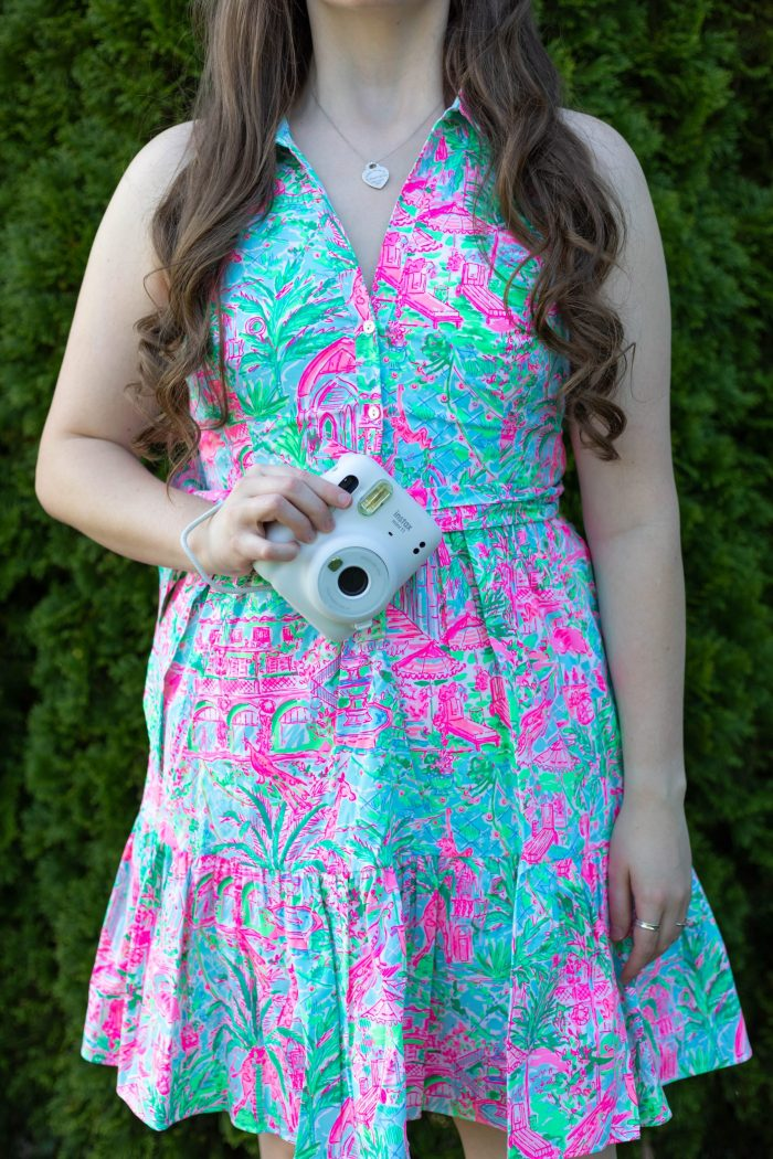 Lilly Pulitzer Trisha Shirtdress in Spotted on Worth
