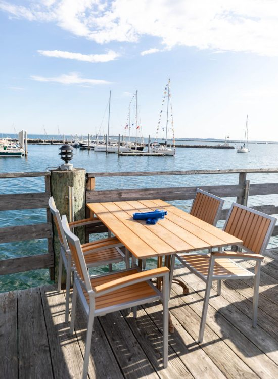 Breakwater Restaurant Waterfront Fine Dining in Stonington Connecticut Written and Photographed by Annie Fairfax Luxury Restaurants of the World