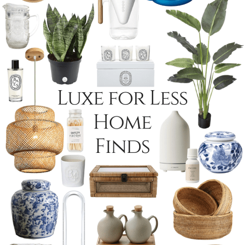 Luxury Home Finds for Less by Annie Fairfax