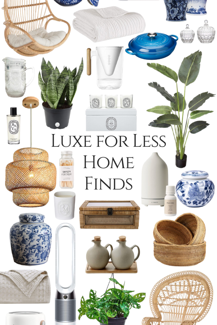 Luxe for Less Home Finds