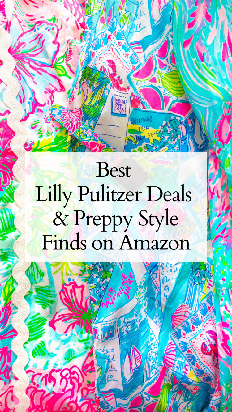 Best Lilly Pulitzer Deals & Preppy Style Finds on Amazon
