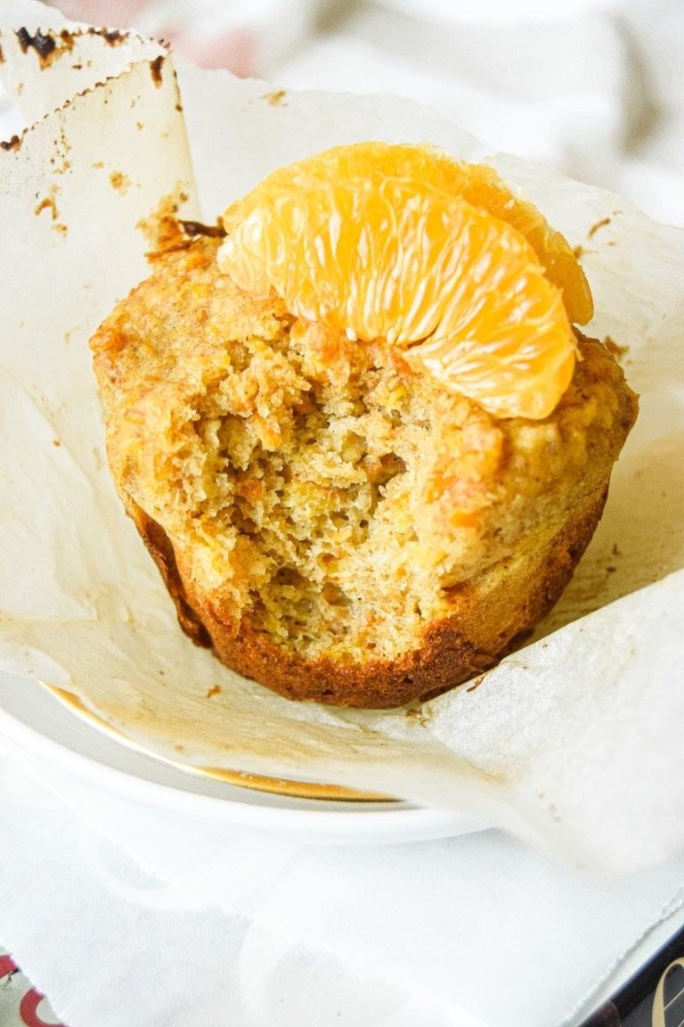 Orange Breakfast Muffins
