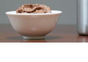 Mousse au chocolat au siphon