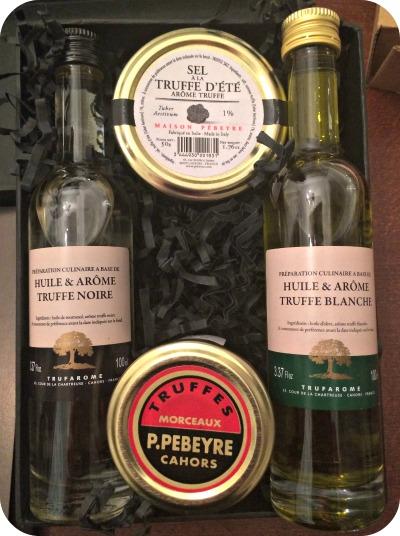Truffes Pebeyre huile de truffe