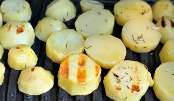 Barbecue Pommes de terre