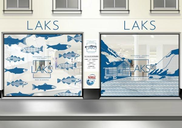 Boutiques éphémères : Laks, Ikea et Biocoop
