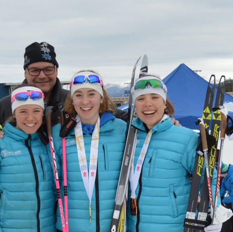 3/6 Jr Girls on the podium on Sprint Day at Nationals were from Hollyburn! Thanks Jake for being an awesome coach!