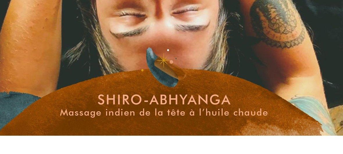 Formation shiro abhyanga - Massage indien de la tête à l'huile chaude