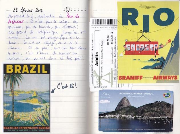 Carnet de voyage- Rio.2