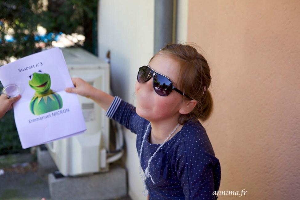 8 ans anniversaire espion enquête escape game