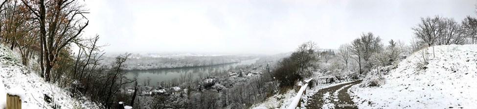 Iphoneographie février 2018 : beaucoup de neige.
