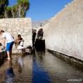 Tremper les pieds dans le Falaj Daris Oman