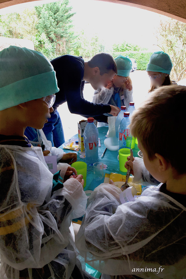 Un anniversaire scientifique – sciences en folie ! crazy scientist