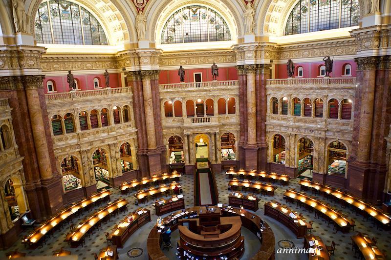 Capitole et Eastern Market, comme dans House of Cards