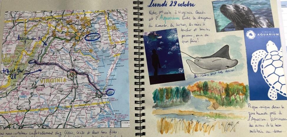 Mon carnet de voyage aux USA - 300ème article
