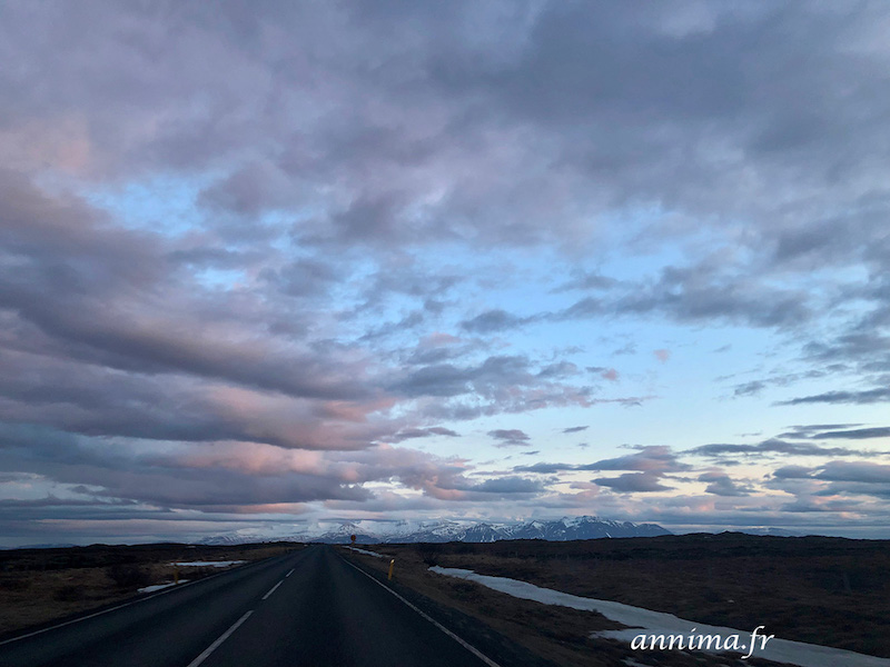 péninsule du Snaefellsness et la cantatrice islandaise.