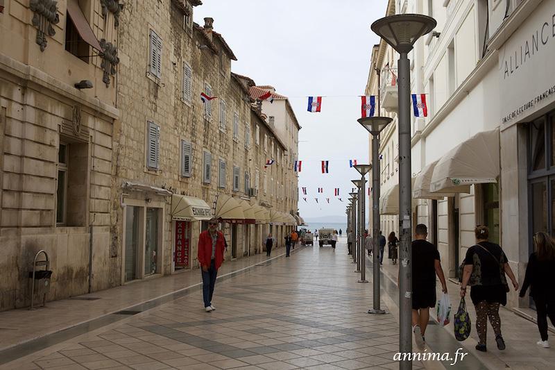 Split, au bord de l'Adriatique