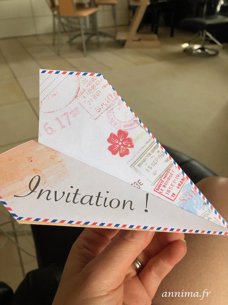 invitation voyage