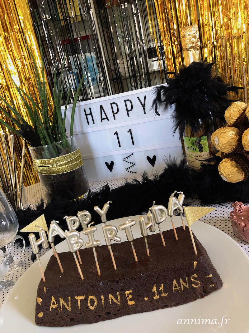 anniversaire confinement Gatsby années folles