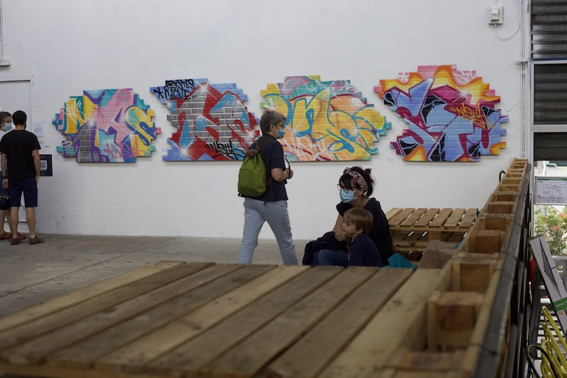 Street art : Expo Lay'up à Toulouse