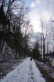 Snowy trails through Austria
