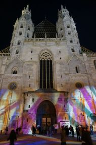 St. Stephen's Cathedral at night