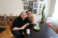 Our warmshowers.org hosts, Marco and Angela
