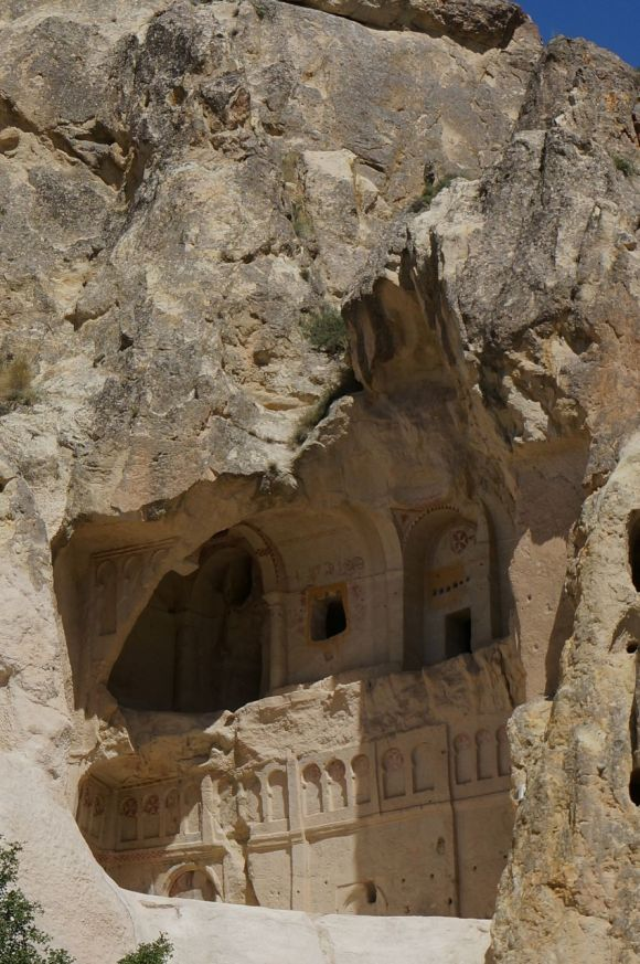 A cave church in the Göreme Open Air Museum